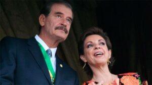 Vicente Fox sugiere a Martha Sahagún como próxima Presidenta y ella lo descarta