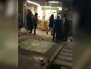 Más de 70 personas saquean tienda de autoservicio en Tecámac