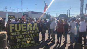"Habitantes de Mexicali dicen ""no"" a planta cervecera de Constellation Brands"