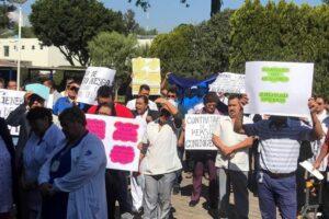 Personal del INER protesta por falta de protocolos para atender casos de coronavirus