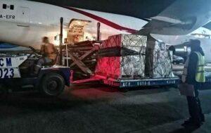 China dona a México kits y material para atender contagios de Covid-19