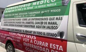 Detienen a hombre en Jalisco por vender supuestas vacunas contra el coronavirus