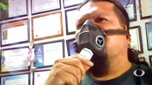 Ingeniero mexicano fabrica un respirador artificial para auxiliar a pacientes con Covid-19
