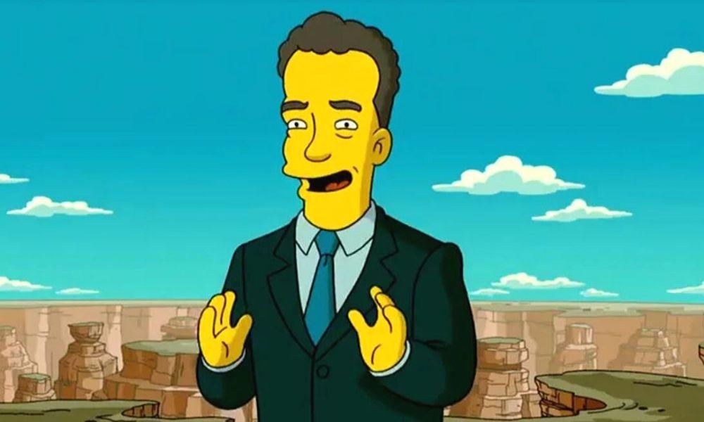 Los Simpson habrían predicho que Thom Hanks enfermería de coronavirus