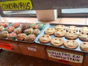 """Panadería crea las """"cuarentenas"""", unas galletas para la contingencia"""