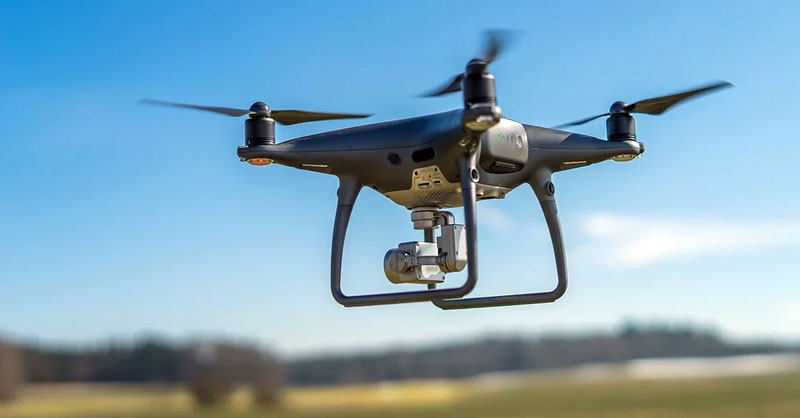 Australia fabrica drones capaces de detectar síntomas de coronavirus a distancia