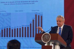 Cada mexicano deberá 100 mil por deuda pública en 2020: Hacienda