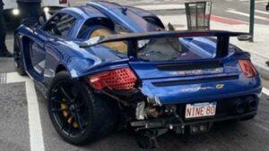 Hombre choca su Porsche en NY y lo detienen por conducir drogado