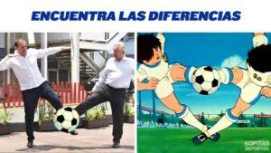 Saludo entre AMLO y Cuauhtémoc Blanco se convierte en meme