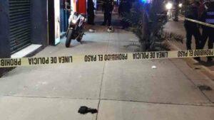 Policía mata a ladrón que intentó robarle su moto en la CDMX
