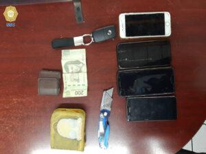 Detienen a asaltante gracias al GPS de uno de los celulares que robó