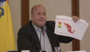 Gobernador de Jalisco arremete contra López-Gatell por reapertura de actividades
