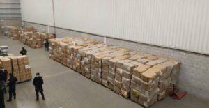 Autoridades recuperan un millón de cubrebocas robados valuados en 60 mdp