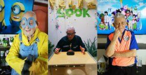 Abuelito de 95 años se convierte en estrella de TikTok
