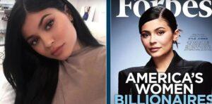 Forbes elimina a Kylie Jenner de su lista de multimillonarios