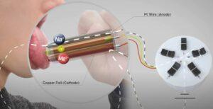 Investigador japonés crea dispositivo capaz de imitar sabores con electricidad