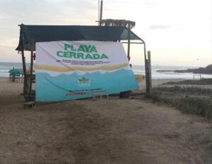 Policías desalojan a más de 420 personas de playas de Los Cabos, Baja California