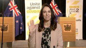 Sismo sorprende a Ministra de Nueva Zelanda durante una entrevista en TV