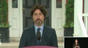 Trudeau guarda segundos de silencio al ser cuestionado sobre Trump y las protestas en EU