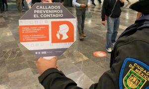 El Metro de la CDMX pide a sus usuarios viajar en silencio para evitar contagios