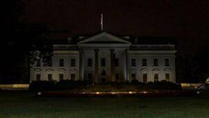 Casa Blanca apaga sus luces ante protestas por muerte de George Floyd