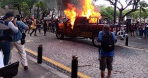 Asesinato de Giovanni López desata protestas en Jalisco