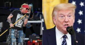 Axel Rose estalla contra Donald Trump y lo acusa de fomentar el odio
