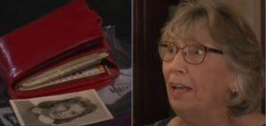 Mujer pierde una cartera en un cine y la recupera casi 60 años después
