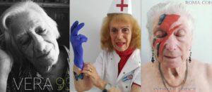 Ancianos aprovechan el confinamiento y recrean portadas de discos famosos