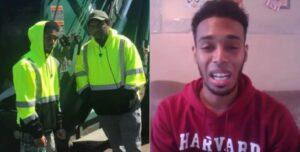 La conmovedora reacción de un recolector de basura al ser aceptado en Harvard