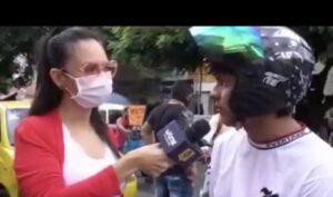 """""""Yo no apoyo ese movimiento iluminatti"""", dice joven que no cree que exista el coronavirus"""