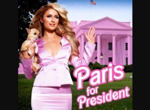 """Paris Hilton se """"postula"""" a la Presidencia de EU"""