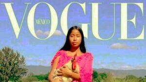 Karen Vega, la primer modelo de oaxaqueña que protagoniza la portada de Vogue