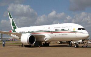 Gobierno de AMLO recibe oferta de 120 mdd por avión presidencial