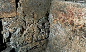 Vestigios del Palacio de Axayácatl son hallados debajo del Monte de Piedad en la CDMX