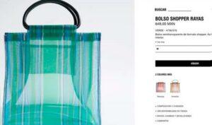 Tras críticas, Zara retira bolsas de mandado que vendía en 659 pesos