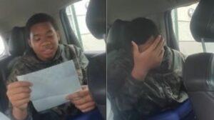 Joven se molesta al ver los impuestos que le descontaron en su primer cheque