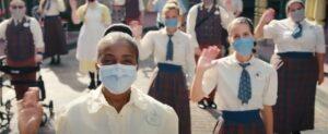 """Disney World lanza un video para """"tranquilizar"""" a sus visitantes ante la reapertura del parque"""