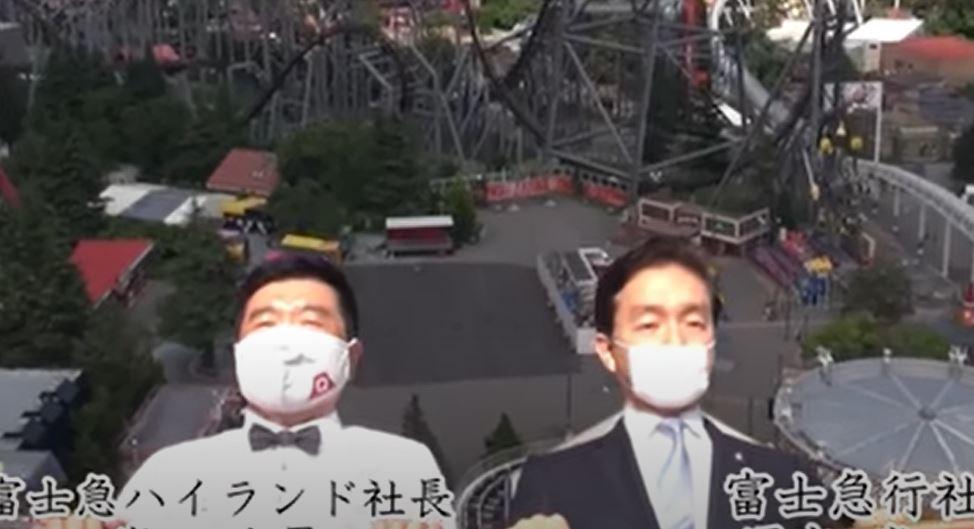 Sin gritos y con mascarillas: parques de atracciones preparan su reapertura en Japón