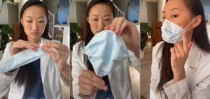 Con este truco podrás ajustar tus mascarillas para estar más protegido