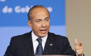 """AMLO busca debilitarme, pero nos """"van a hacer los mandados"""": Felipe Calderón"""