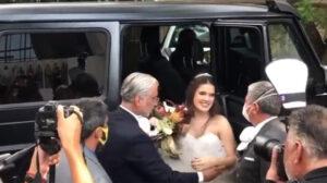 Hija de Alejandro Fernández se casa en plena pandemia