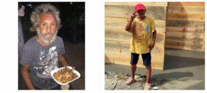 Construyen casa de madera a indigente al que le dieron croquetas para perro