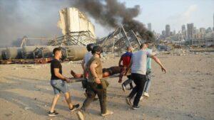 Toneladas de Nitrato de amonio habrían provocado explosión en Beirut