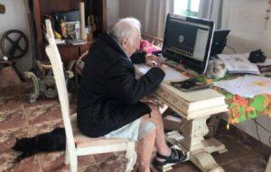 Abuelito de 92 años estudia la universidad para ser arquitecto