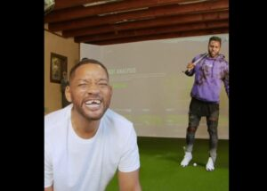 Will Smith pierde sus dientes al jugar golf con Jason Derulo