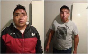 Capturan a dos asaltantes de transporte público en Ecatepec