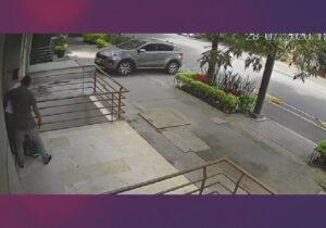 Captan en video asalto a transeúnte en la CDMX