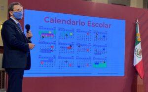 SEP presenta calendario escolar 2020-2021